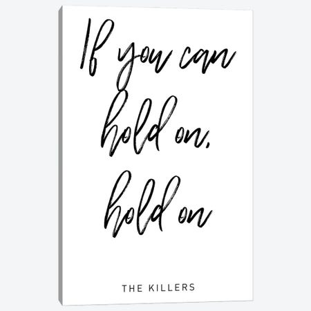 All these things I've done Lyrics Canvas Print #MSD5} by Mambo Art Studio Canvas Artwork