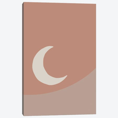 The Moon Canvas Print #MSD60} by Mambo Art Studio Canvas Print