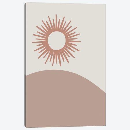 The Sun Canvas Print #MSD61} by Mambo Art Studio Canvas Print