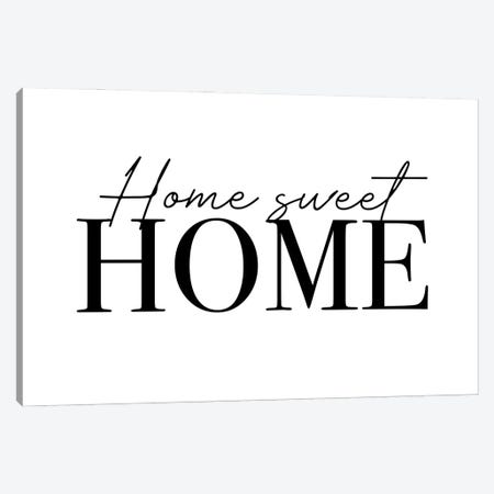 Home Sweet Home Canvas Print #MSD78} by Mambo Art Studio Canvas Art