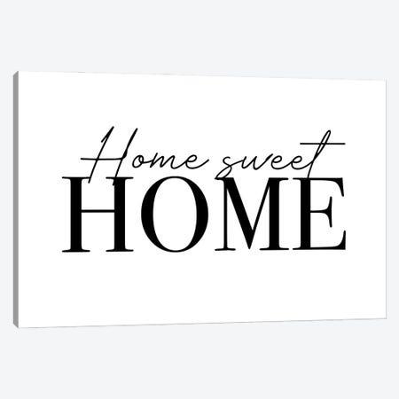 Home Sweet Home Canvas Print #MSD78} by Mambo Art Studio Canvas Art