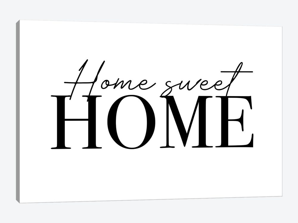 Home Sweet Home by Mambo Art Studio 1-piece Art Print
