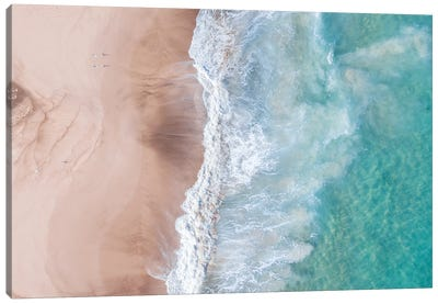 Beach Photo Canvas Art Print