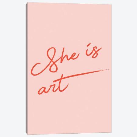 She is Art Canvas Print #MSD85} by Mambo Art Studio Canvas Artwork