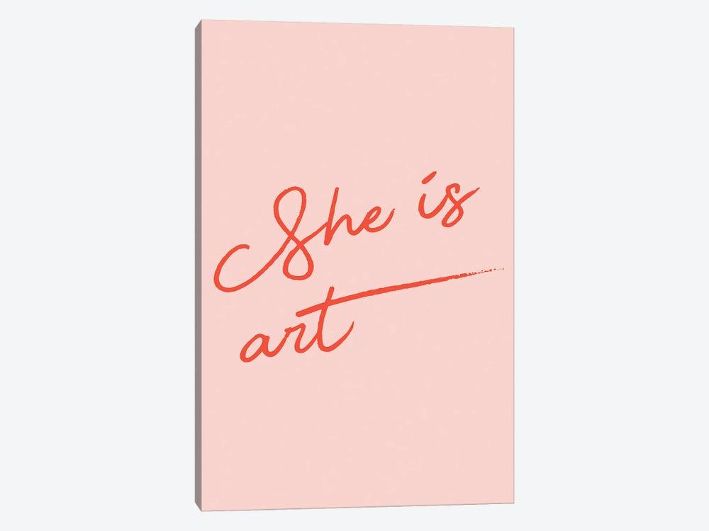 She is Art by Mambo Art Studio 1-piece Canvas Art Print