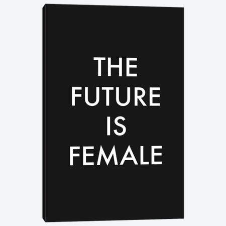 The Future is Female Canvas Print #MSD86} by Mambo Art Studio Canvas Art