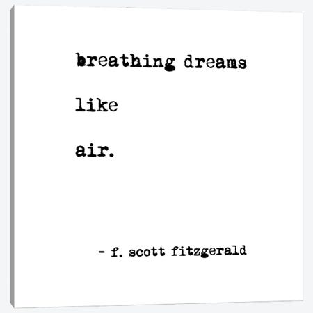 Breathing Dreams by Scott Fitzgerald Square Canvas Print #MSD8} by Mambo Art Studio Art Print
