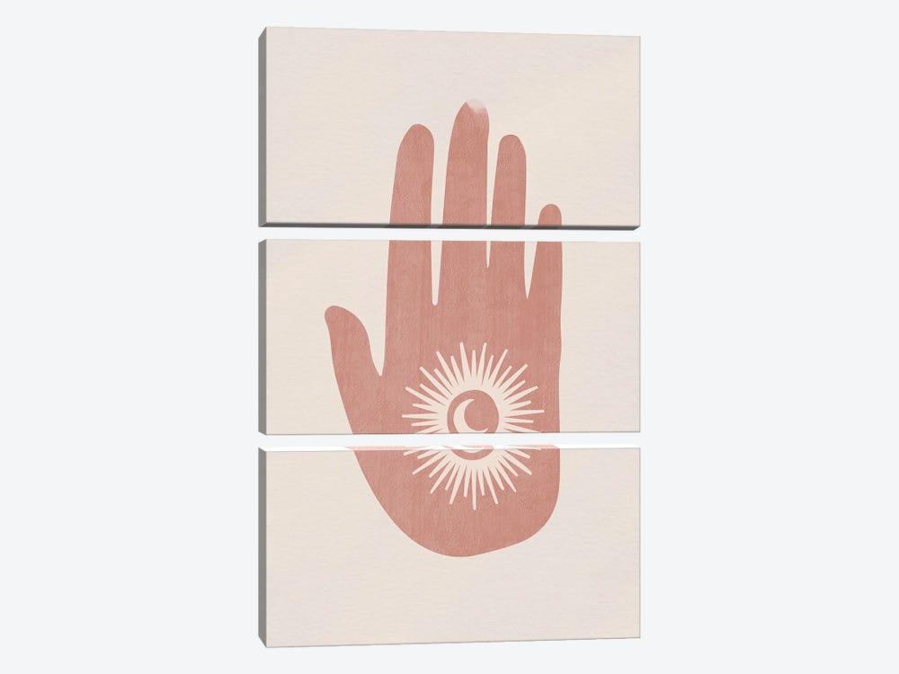 Eclipse Hand by Mambo Art Studio 3-piece Art Print