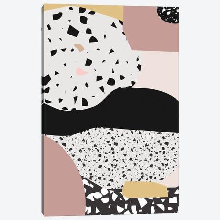 Terrazzo Pink Canvas Print #MSD97} by Mambo Art Studio Canvas Art Print