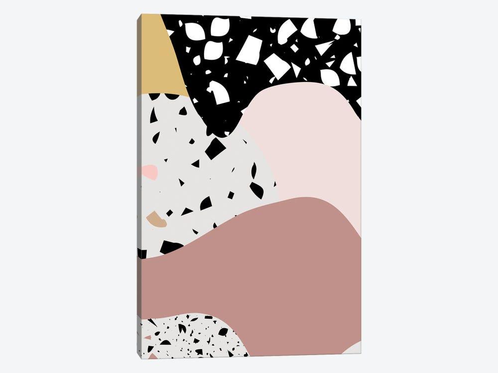 Terrazzo Pink Big by Mambo Art Studio 1-piece Art Print