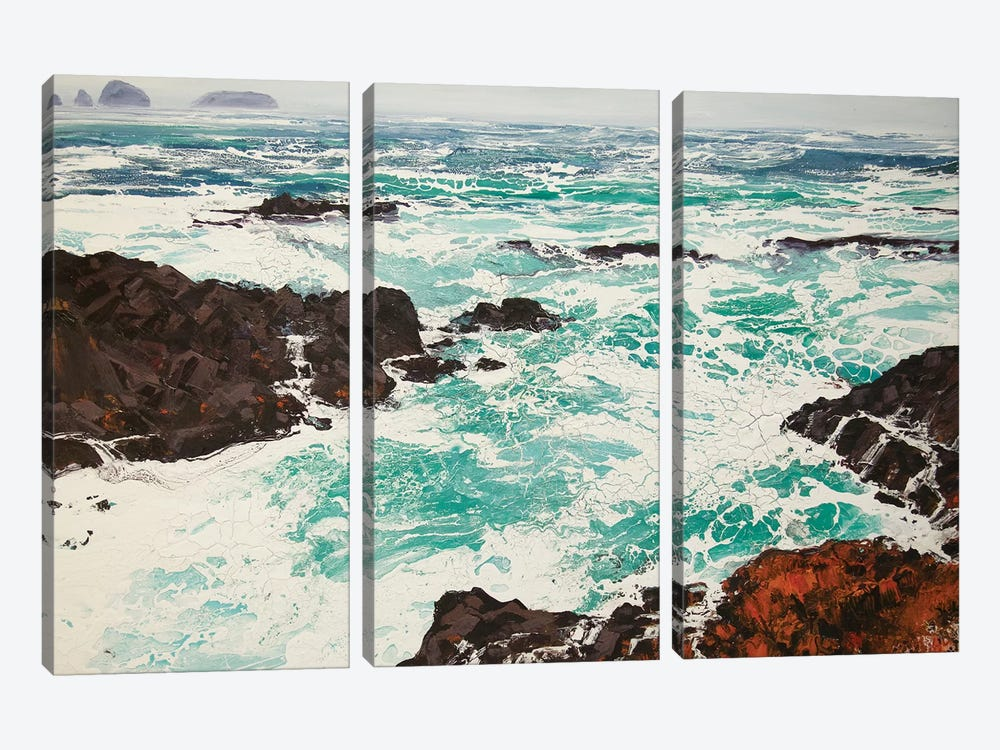Iona XI by Michael Sole 3-piece Canvas Print