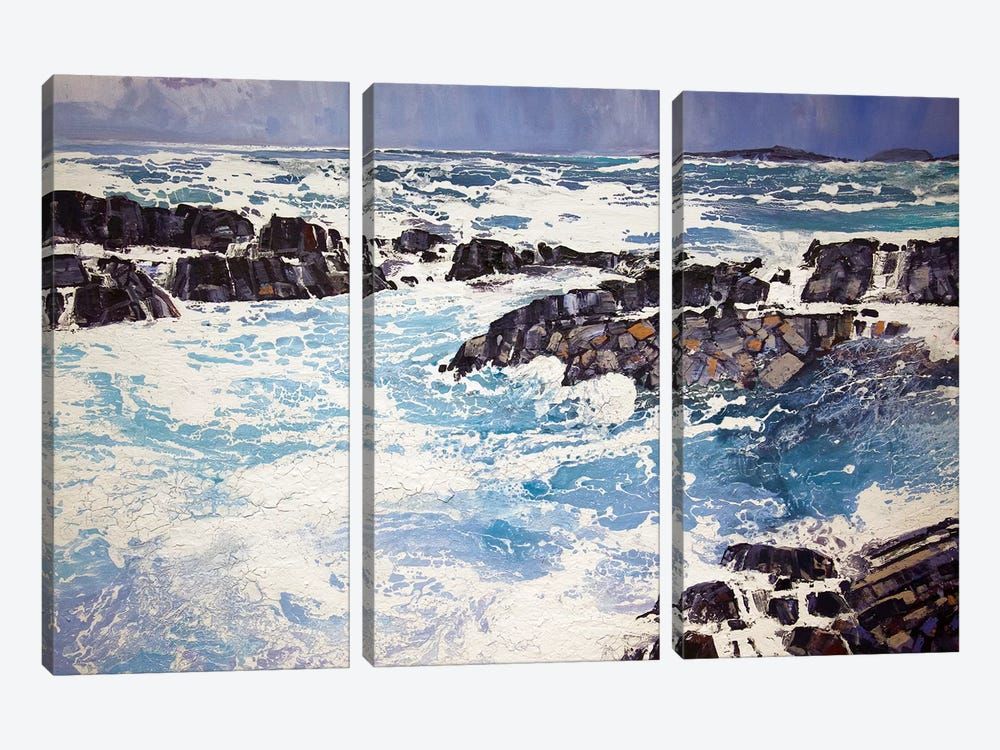 Iona XV by Michael Sole 3-piece Canvas Wall Art