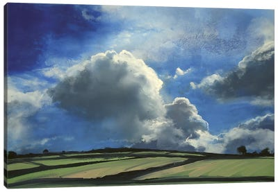 Far Beyond Summer Sky II Canvas Art Print