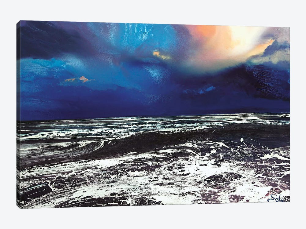 Lyme Bay Sky by Michael Sole 1-piece Art Print