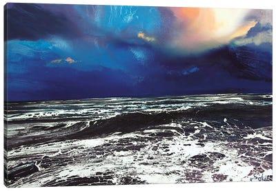 Lyme Bay Sky Canvas Art Print