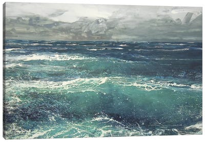 March Gale V Canvas Art Print
