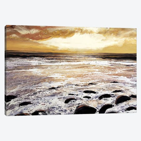 North Wales Sea And Sky Canvas Print #MSE26} by Michael Sole Art Print
