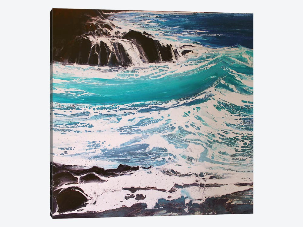 Seaspray, Red Rocks III by Michael Sole 1-piece Art Print