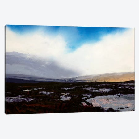 Sligachan II Canvas Print #MSE41} by Michael Sole Canvas Artwork