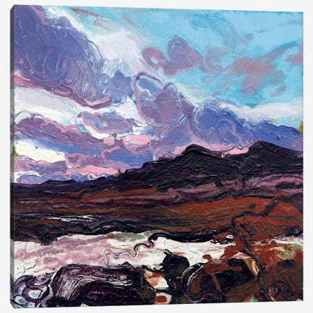 Sligachan V Canvas Print #MSE42} by Michael Sole Canvas Art