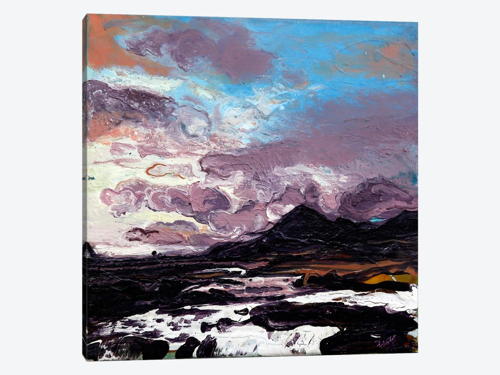 Sligachan VI 1-piece Canvas Wall Art