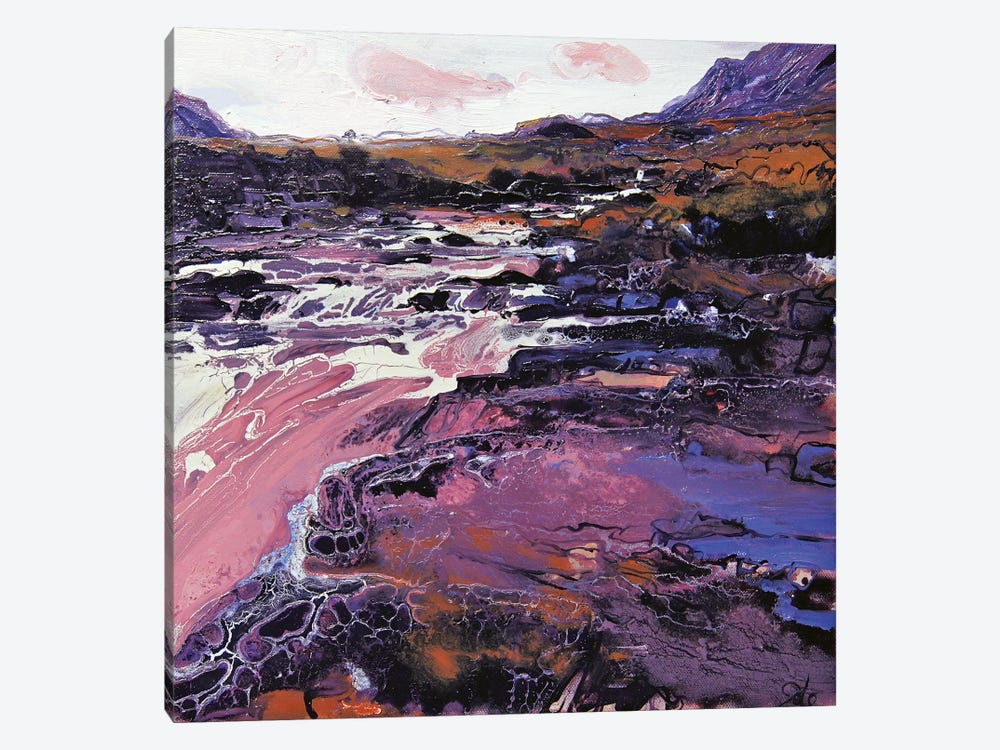 Sligachan VIII 1-piece Canvas Wall Art