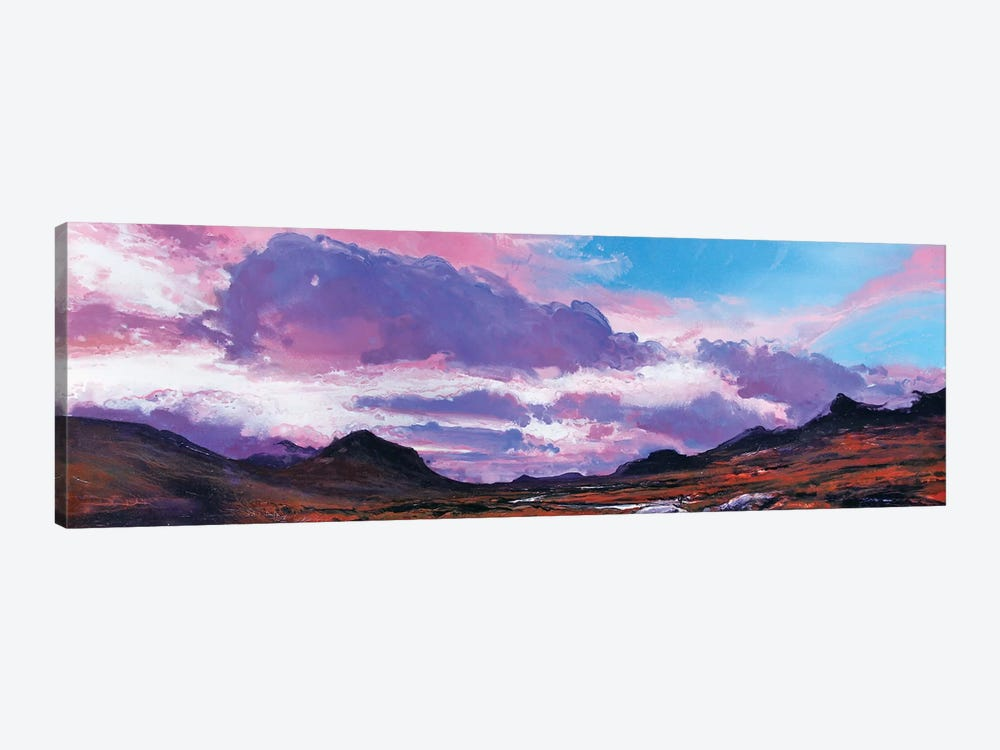 The Cuillins I by Michael Sole 1-piece Canvas Art