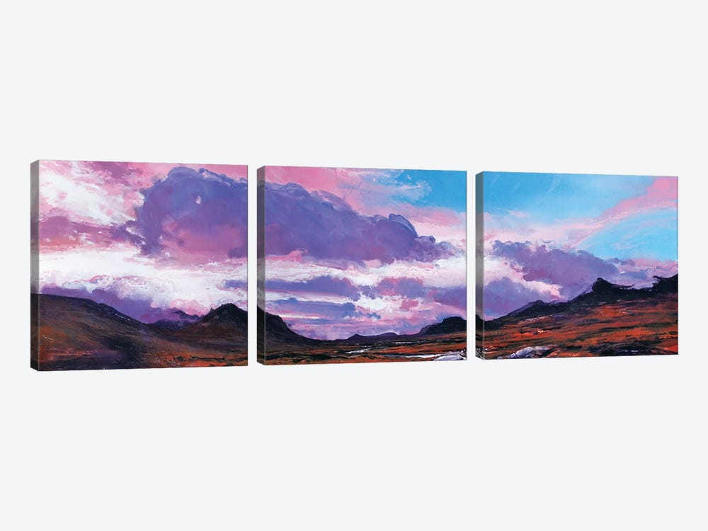The Cuillins I by Michael Sole 3-piece Canvas Art