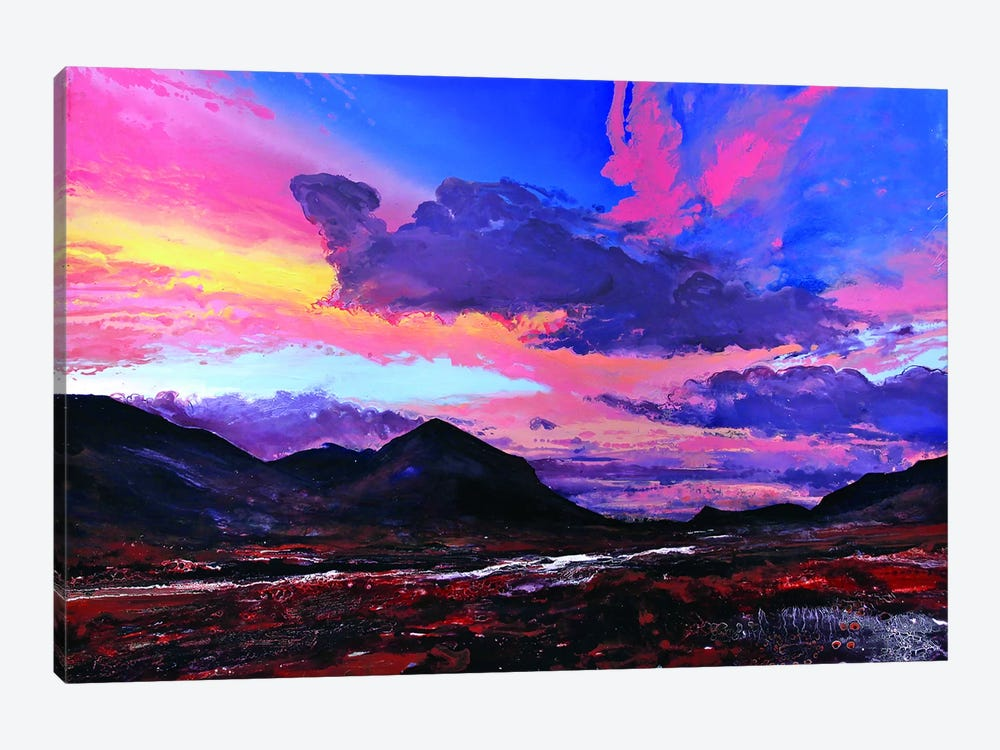 The Cuillins II by Michael Sole 1-piece Canvas Art Print