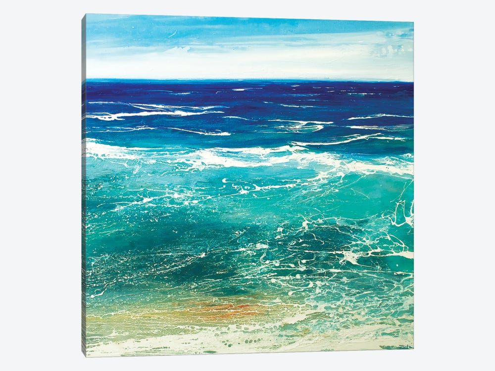Transparent Azur by Michael Sole 1-piece Canvas Artwork