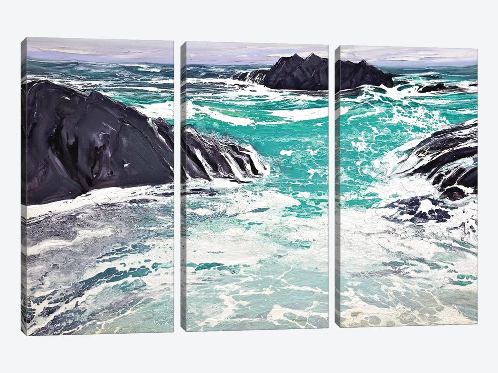 Iona I by Michael Sole 3-piece Canvas Wall Art