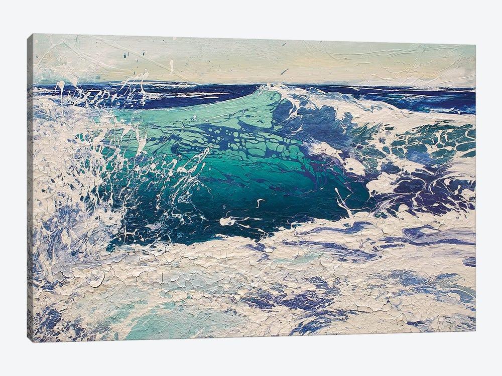 Transparent Azure IV by Michael Sole 1-piece Canvas Art