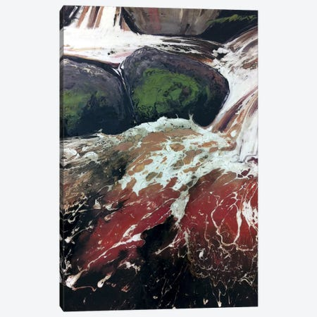 Wyming Brook I Canvas Print #MSE51} by Michael Sole Canvas Print
