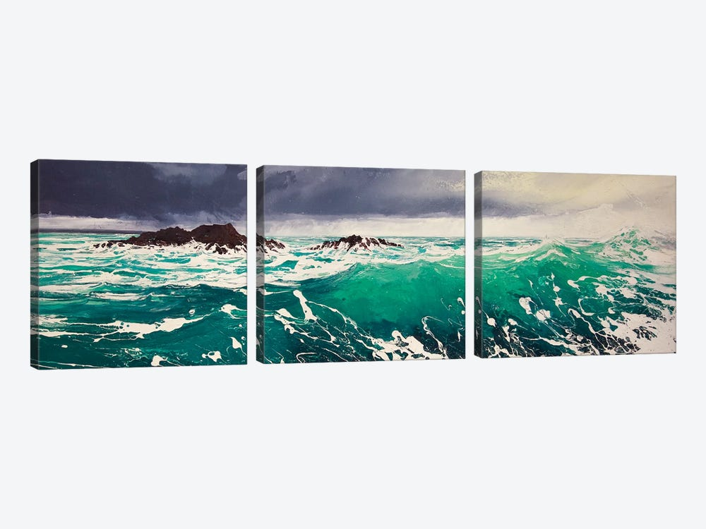 North Westerly IV by Michael Sole 3-piece Art Print