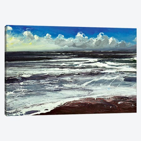 Branscombe Chine Canvas Print #MSE57} by Michael Sole Canvas Art