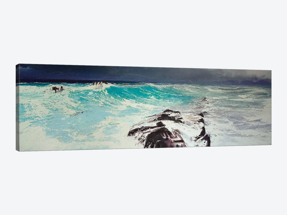 Cap d'Antibes, West by Michael Sole 1-piece Canvas Art
