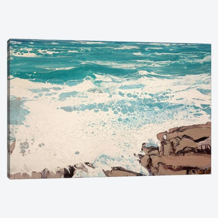 Cap d'Antibes, East IV Canvas Print #MSE69} by Michael Sole Canvas Art