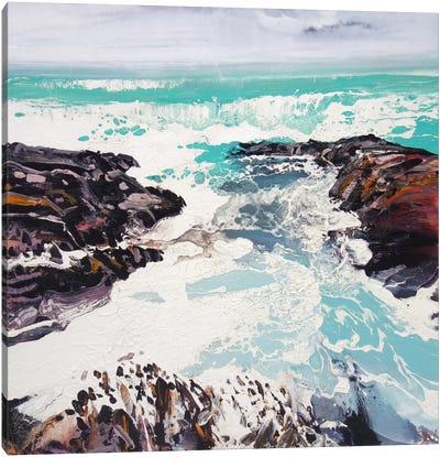 Cornwall Rocks II Canvas Art Print