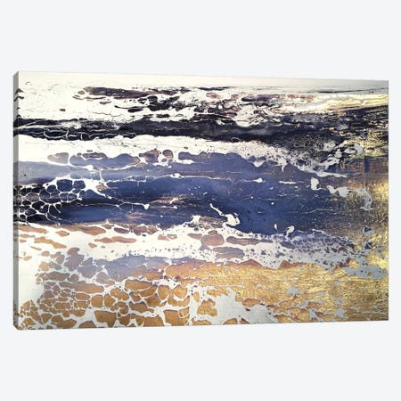 English Gold XI Canvas Print #MSE75} by Michael Sole Canvas Art