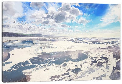 Lyme Bay Sky VI Canvas Art Print