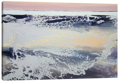 Morning Sea Canvas Art Print