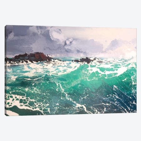 North Westerly XI Canvas Print #MSE81} by Michael Sole Canvas Artwork