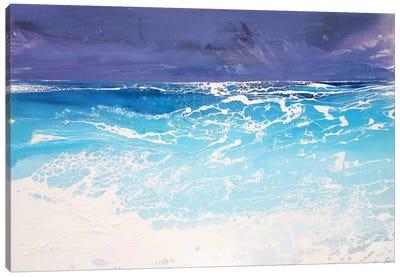 Storm On The Riviera V Canvas Art Print