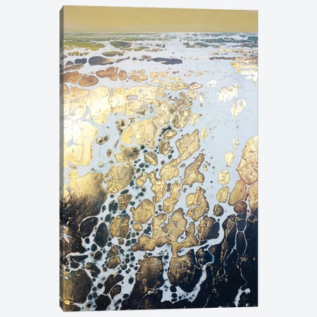 English Gold XIV Canvas Print #MSE83} by Michael Sole Canvas Wall Art