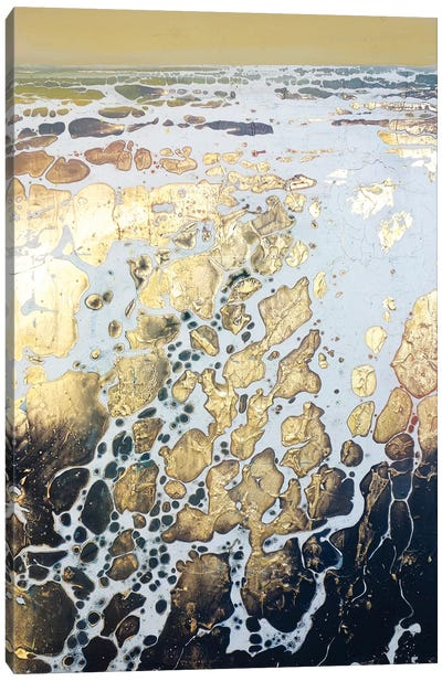 English Gold XIV Canvas Art Print