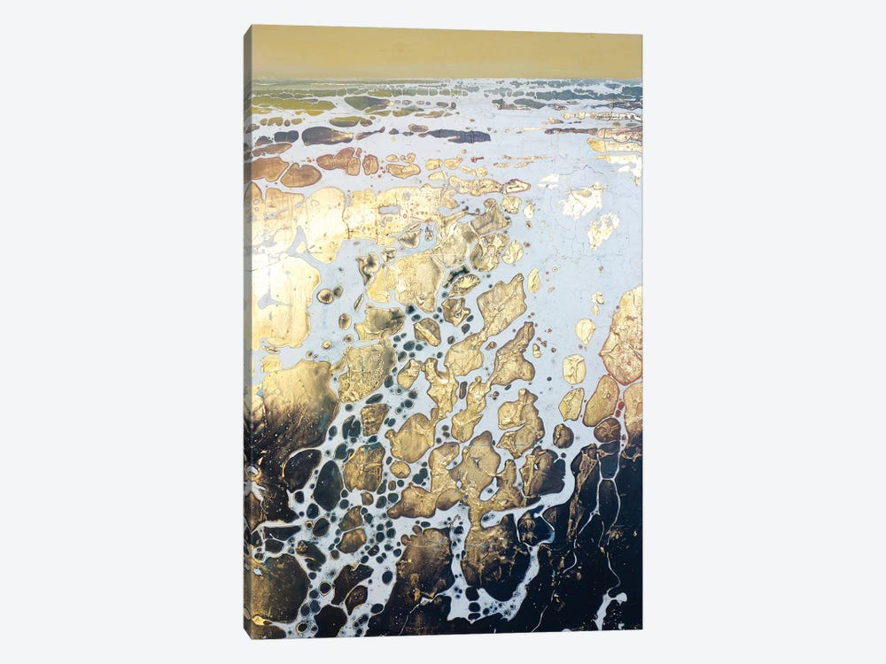English Gold XIV by Michael Sole 1-piece Canvas Art