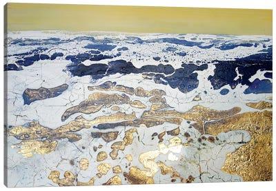 English Gold XV Canvas Art Print