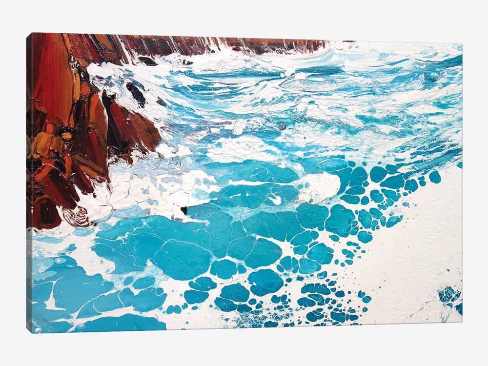 Seaspray, Red Rocks IX by Michael Sole 1-piece Art Print