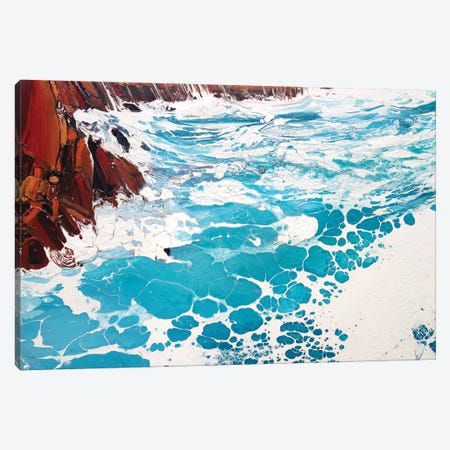 Seaspray, Red Rocks IX Canvas Print #MSE86} by Michael Sole Canvas Print