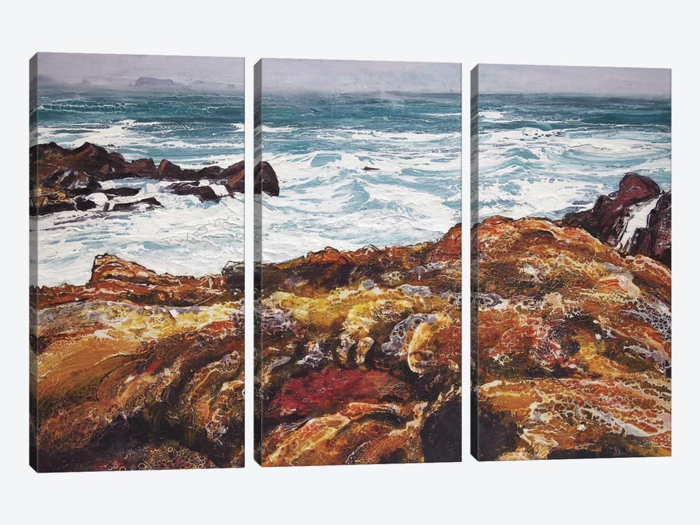 Iona V by Michael Sole 3-piece Canvas Wall Art